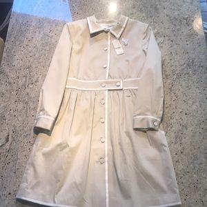Brooks Brothers Coat/dress girls size 12